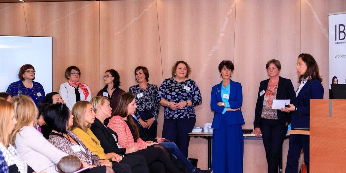 """Egal in welchem Bereich sie tätig sind, als Unternehmerinnen haben die zwölf Gründerinnen von """"One Woman Enterprise"""" oftmals ähnliche Erfahrungen gemacht und wollen diese nun weitergeben."""