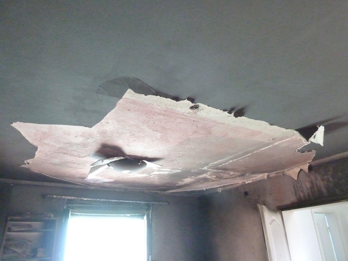 In der Wohnung entstand erheblicher Materialschaden.