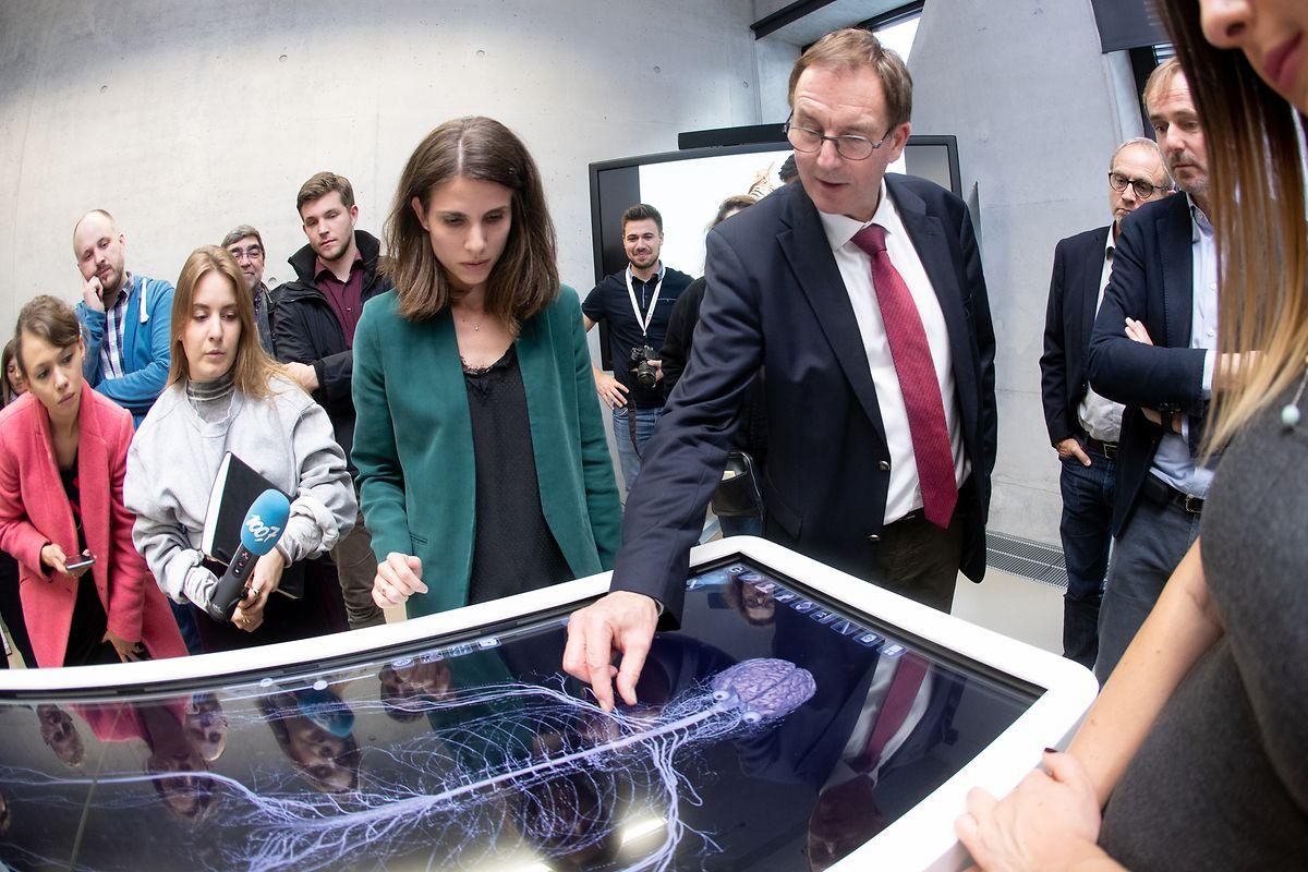 Der Anatomie-Tisch soll für den neuen Medizin-Bachelorstudiengang ab September 2020 eingesetzt werden.