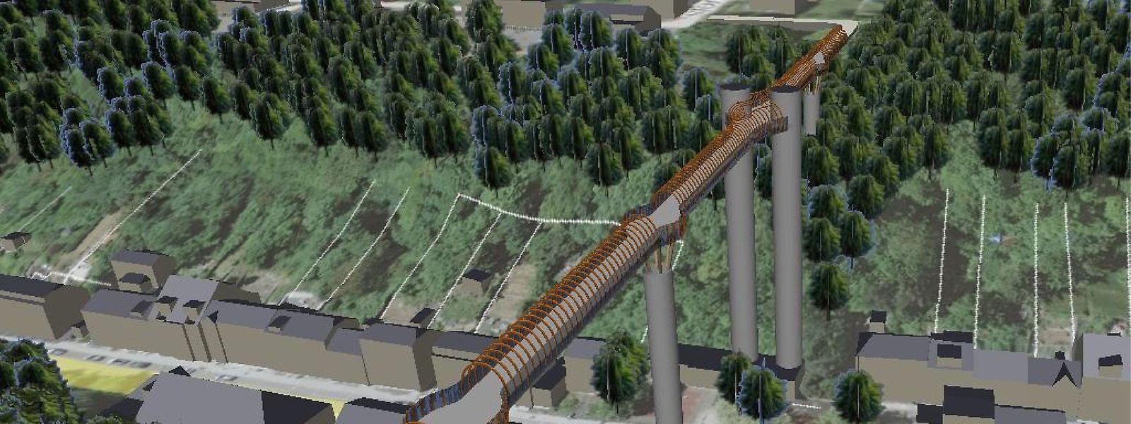 Auch das zweite Brückenprojekt stößt beim Interessenverein auf Ablehnung.