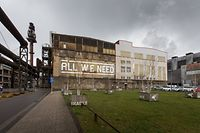 Lokales, Pläne für Gebläsehalle: Ortsbegehung, Foto: Lex Kleren/Luxemburger Wort