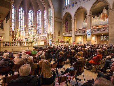 Oktave Messe Pfarrverband Weimerskirch Beggen, Foto Lex Kleren