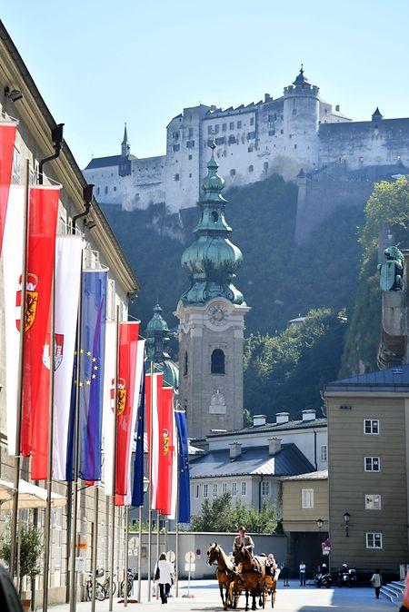Take a carriage ride to appreciate Salzburg's baroque architecture Photo: AFP