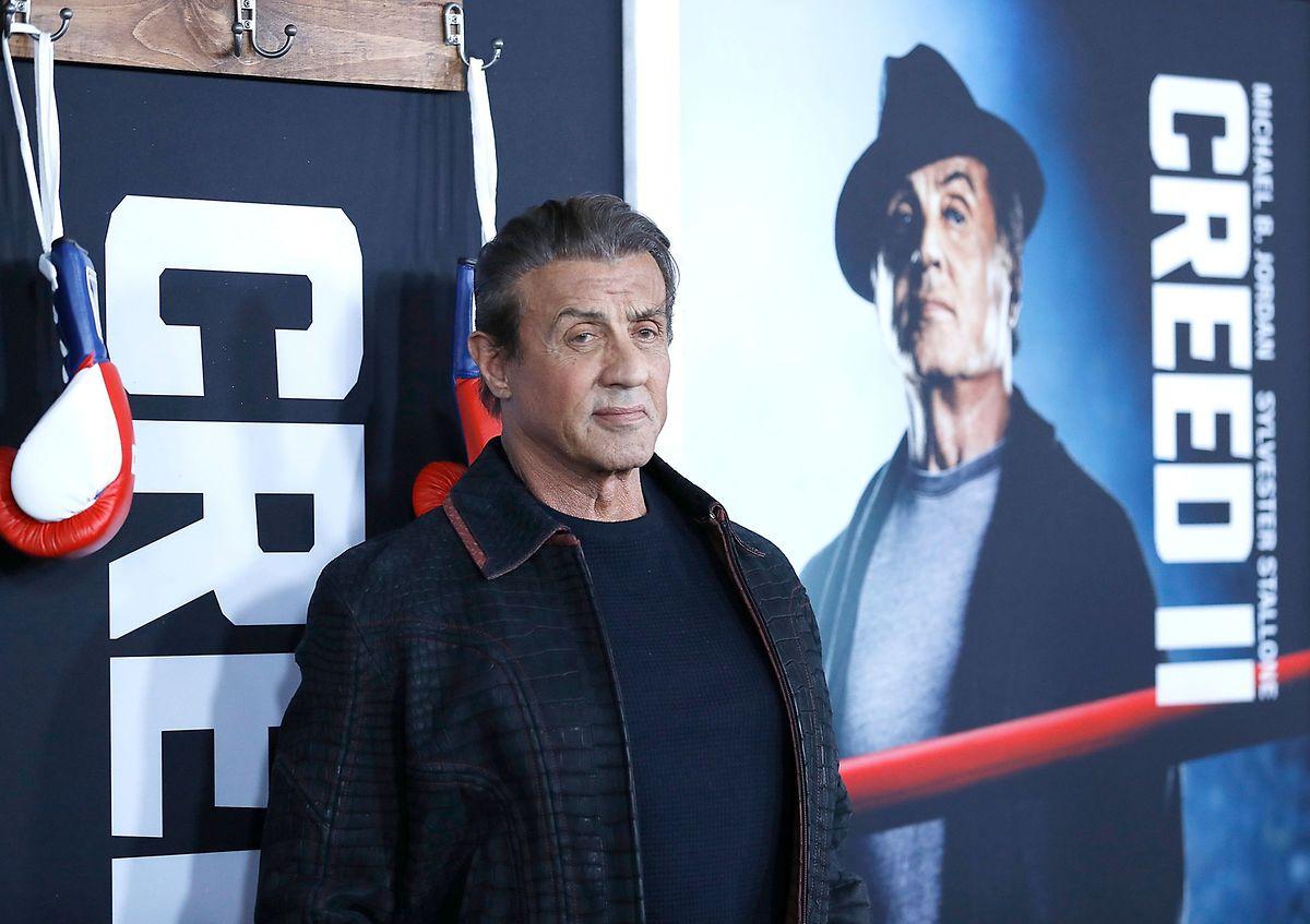 Sylvester Stallone pour la sortie de «Creed II» en 2018.