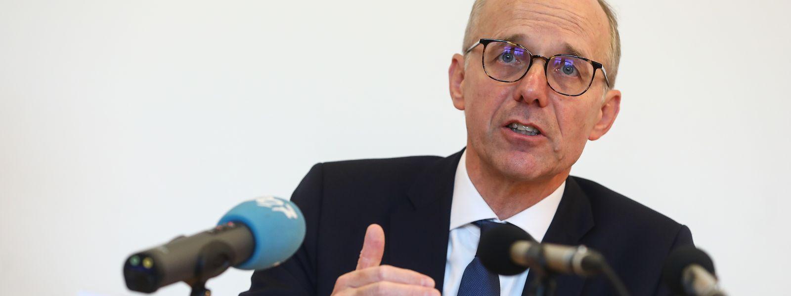 """2008 - 2020: """"Wirtschaftlich gibt es viele Parallelen"""", sagt der Präsident der Chambre de Commerce, Luc Frieden."""