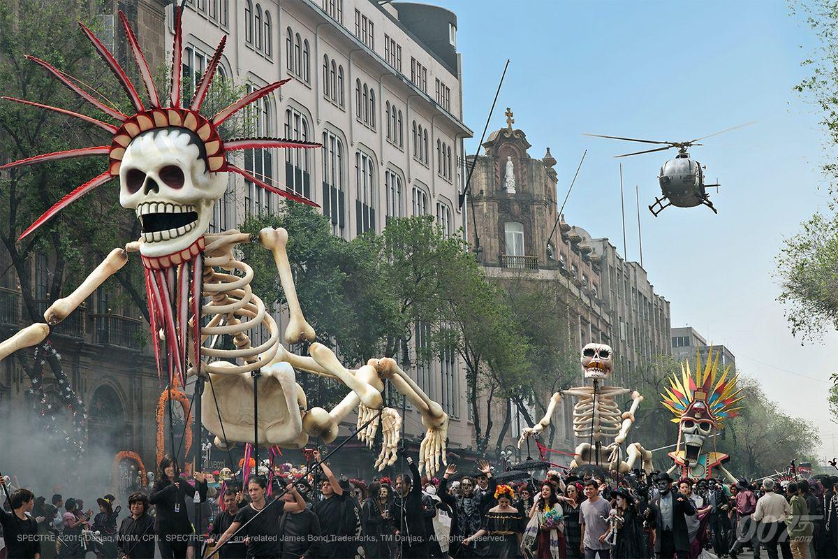 Die Eröffnung in Mexiko ist eine formale und inhaltliche Hommage an Altmeister Hitchcock.