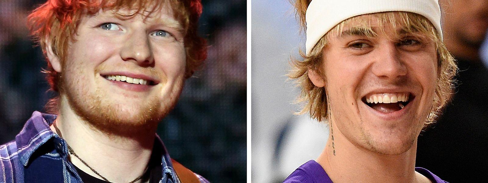 Justin Bieber und Ed Sheeran machen wieder gemeinsame Sache.
