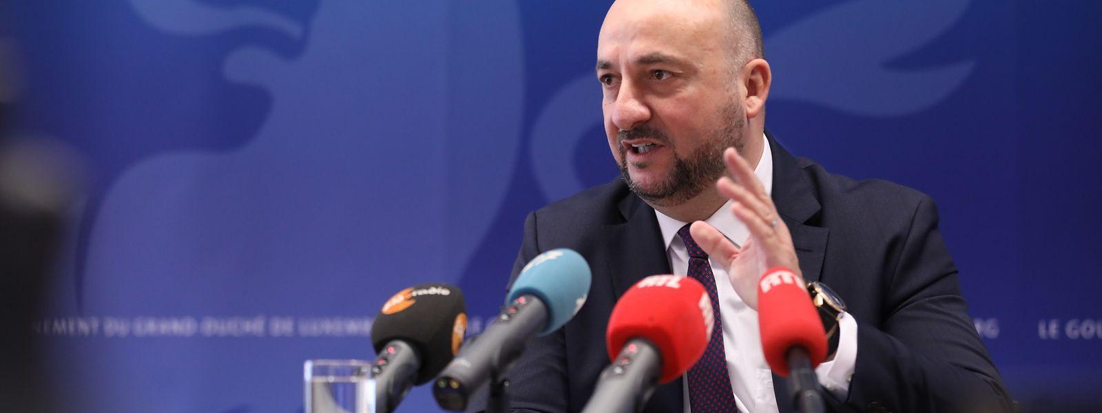 Vizepremier Etienne Schneider (LSAP) verlässt ein gutes Jahr nach den Parlamentswahlen die Regierung.
