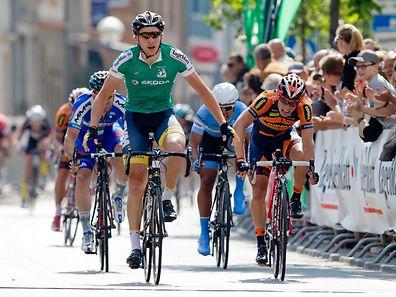 Coen Vermeltfoort gewinnt in Kayl seine vierte Etappe bei der Flèche du Sud.