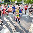 """""""ING Night Marathon"""": viele Läufer und noch mehr Zuschauer."""