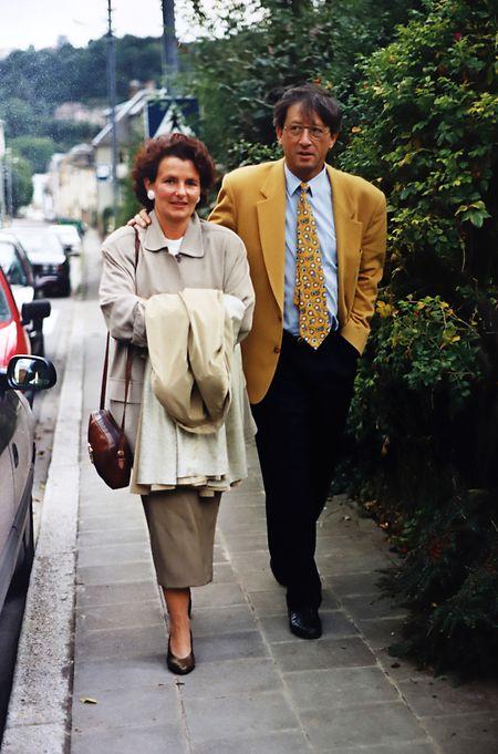 A fotografia que Manuel Dias fez de Jean Claude Juncker e da mulher e que mais tarde foi oferecer ao então primeiro-ministro
