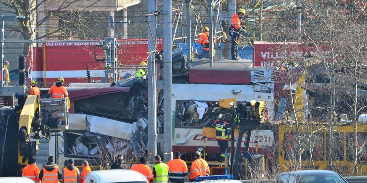 Der Lokführer des Personenzuges überlebte das Unglück nicht.