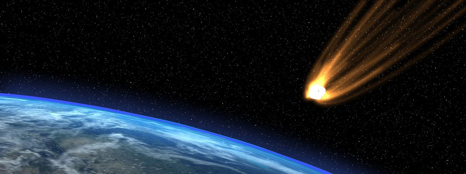 In einer Computersimulationließen Forscher 50000 Asteroiden mit 15 bis 400 Metern Durchmesser auf die Erde prallen.