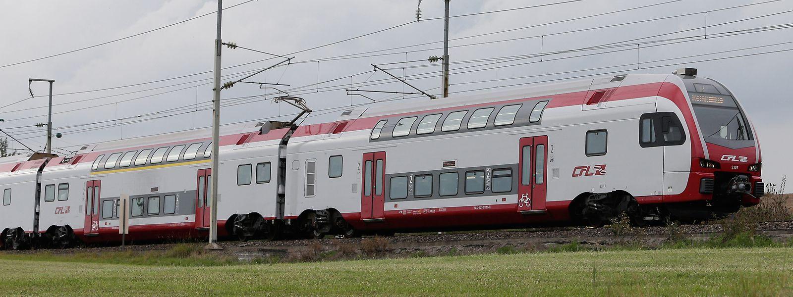 Die CFL-Züge vom Typ Stadler Kiss fahren bis nach Wittlich und Koblenz.