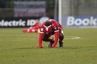 Gerson Rodrigues (Luxemburg - 6) Eigentor / Fussball Europameisterschaft 2020 Qualifikation, 2. Spieltag / 25.03.2019 / Luxemburg - Ukraine / Stade Josy Barthel / Foto: Yann Hellers
