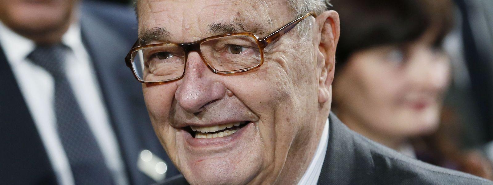 Jacques Chirac en 2014, affaibli par la maladie.