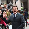 Luxembourg's Prime minister Xavier Bettel gestures as he arrives in Brussels, on October 19, 2017 on the first day of a summit of European Union (EU) leaders, set to rule out moving to full Brexit trade talks after negotiations stalled. / AFP PHOTO / Emmanuel DUNAND