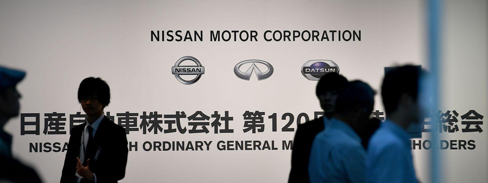 Die Hautversammlung der Nissan-Aktionäre findet am Dienstag statt.