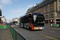 Viele Fahrgäste nutzen den öffentlichen Transport der Hauptstadt.