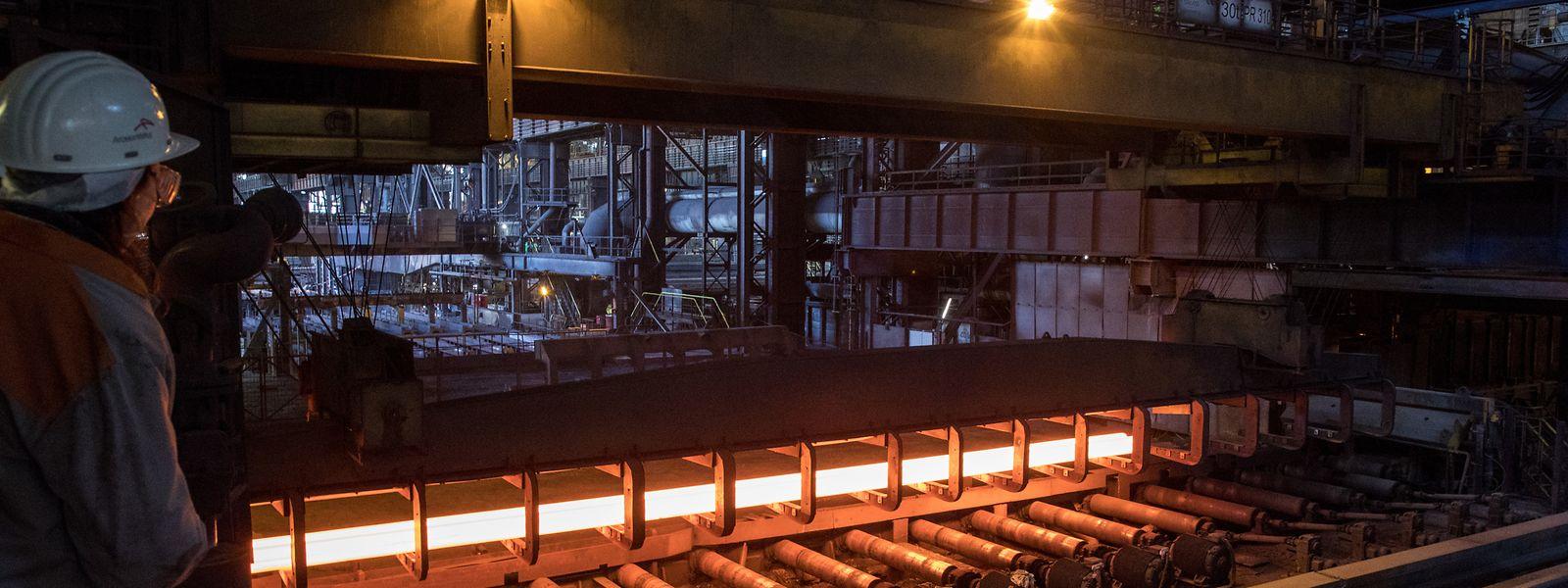 Das Stahlwerk von ArcelorMittal in Differdingen.