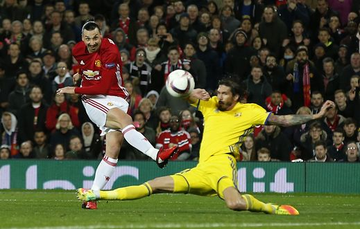 Ligue Europa: encore facile pour Manchester United