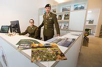 Ouverture officielle du bureau d'information de l'armée luxembourgeoise.Foto:Gerry Huberty