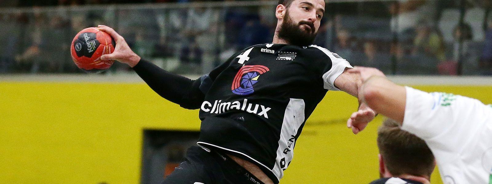 Martin Muller feierte mit dem HB Esch einen gelungenen Saisonauftakt.