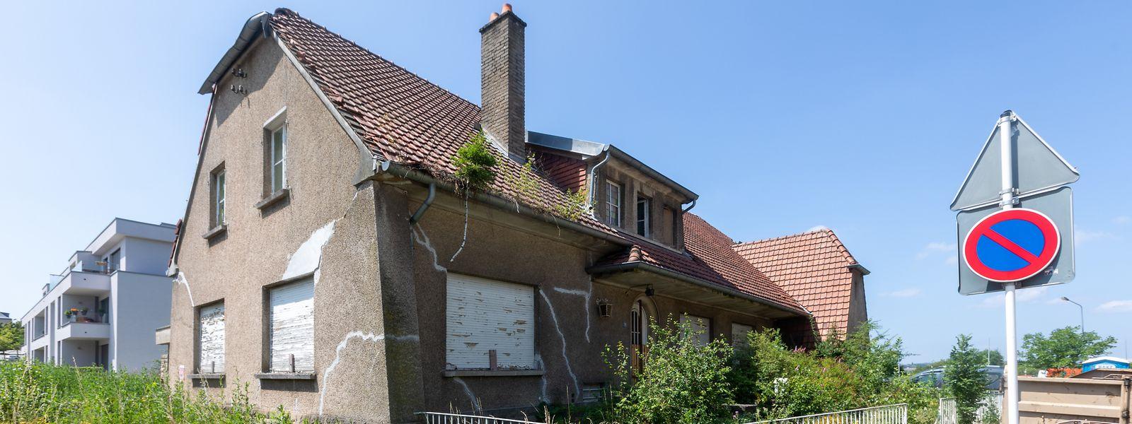 La maison située le long de la rue Verte dans la capitale illustre, selon les membres du mouvement 'Koalitioun Wunnrecht', les manquements de la politique actuelle du logement.