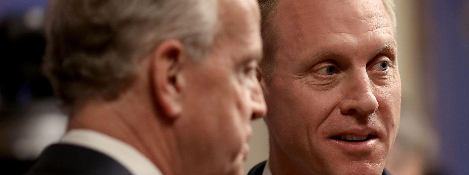 Der geschäftsführende US-Verteidigungsminister Patrick Shanahan soll nach dem Willen von Präsident Donald Trump dauerhaft das Pentagon leiten.
