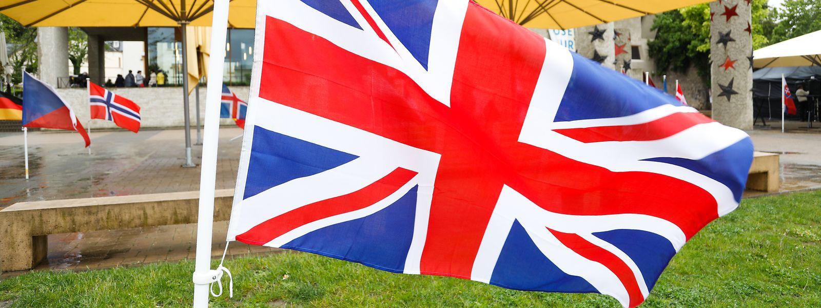 Die britische Flagge vor dem Europamuseum in Schengen: Am Samstag scheidet mit dem Vereinigten Königreich erstmals ein Staat aus der Europäischen Union aus.