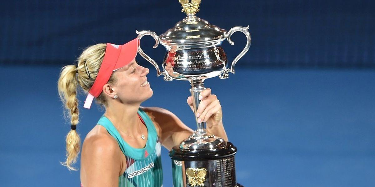 Angelique Kerber a décroché le plus beau titre de sa carrière.
