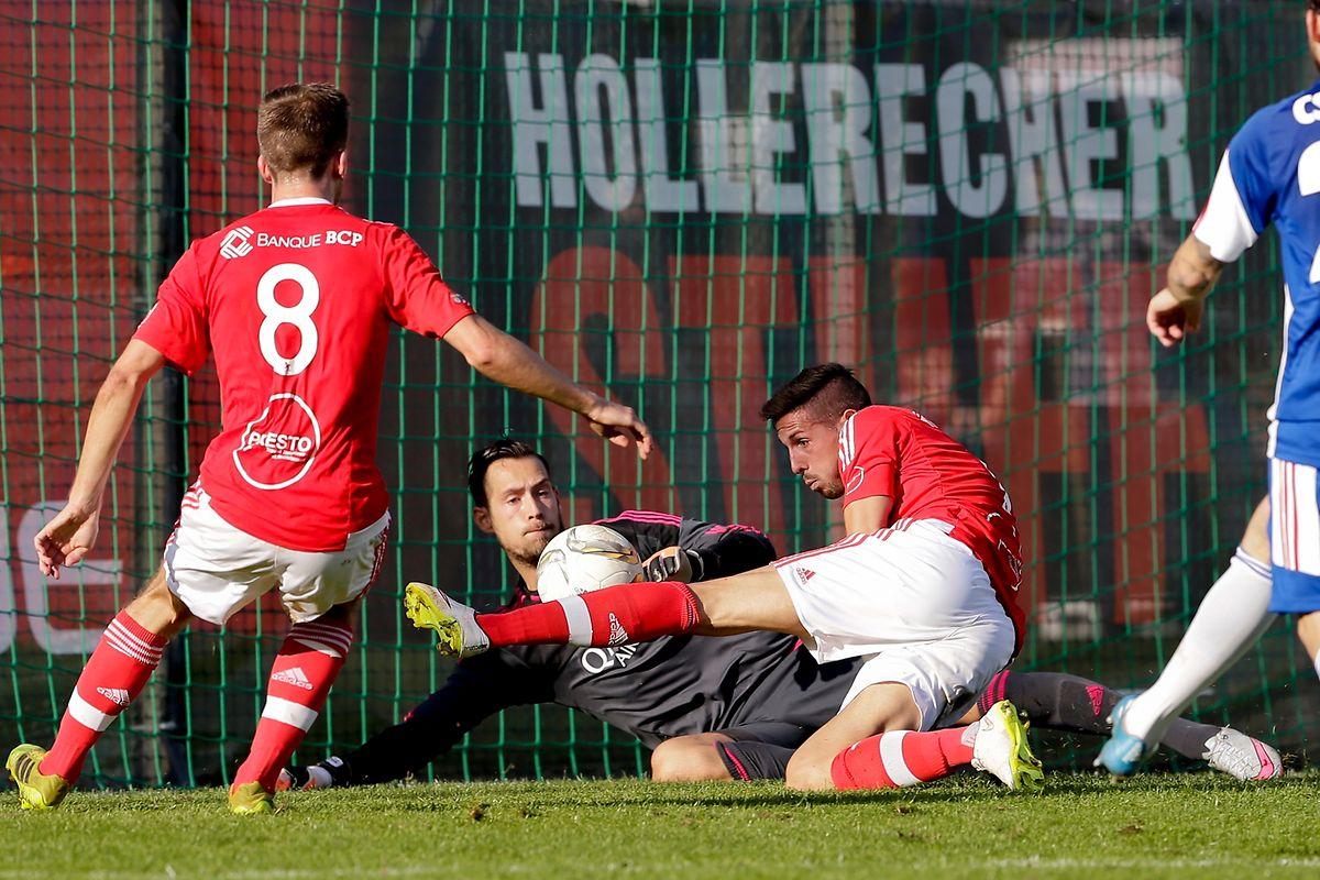 Ob die Akteure des RM Hamm Benfica auch in Differdingen ins gegnerische Tor treffen?