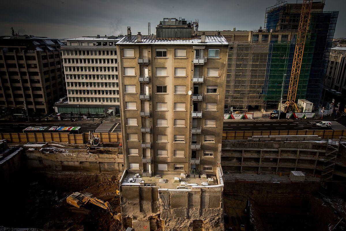 20 janvier 2016 : l'immeuble suspendu à une décision des copropriétaires