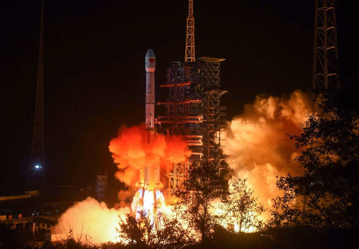 Die Sonde war am 8.Dezember in China gestartet.