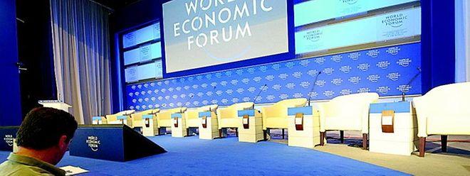 Das jährliche Treffen des Weltwirtschaftsforums findet in Davos vom 23. bis zum 26. Januar 2018 statt.