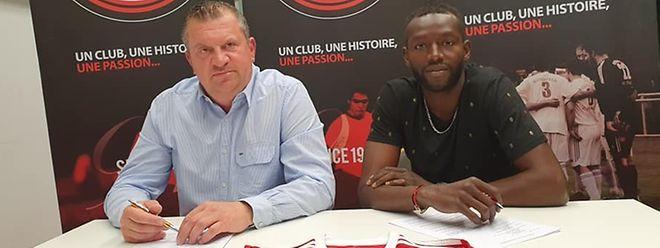 Momar Ndiaye est un joueur rodangeois pour les trois prochaines saisons.
