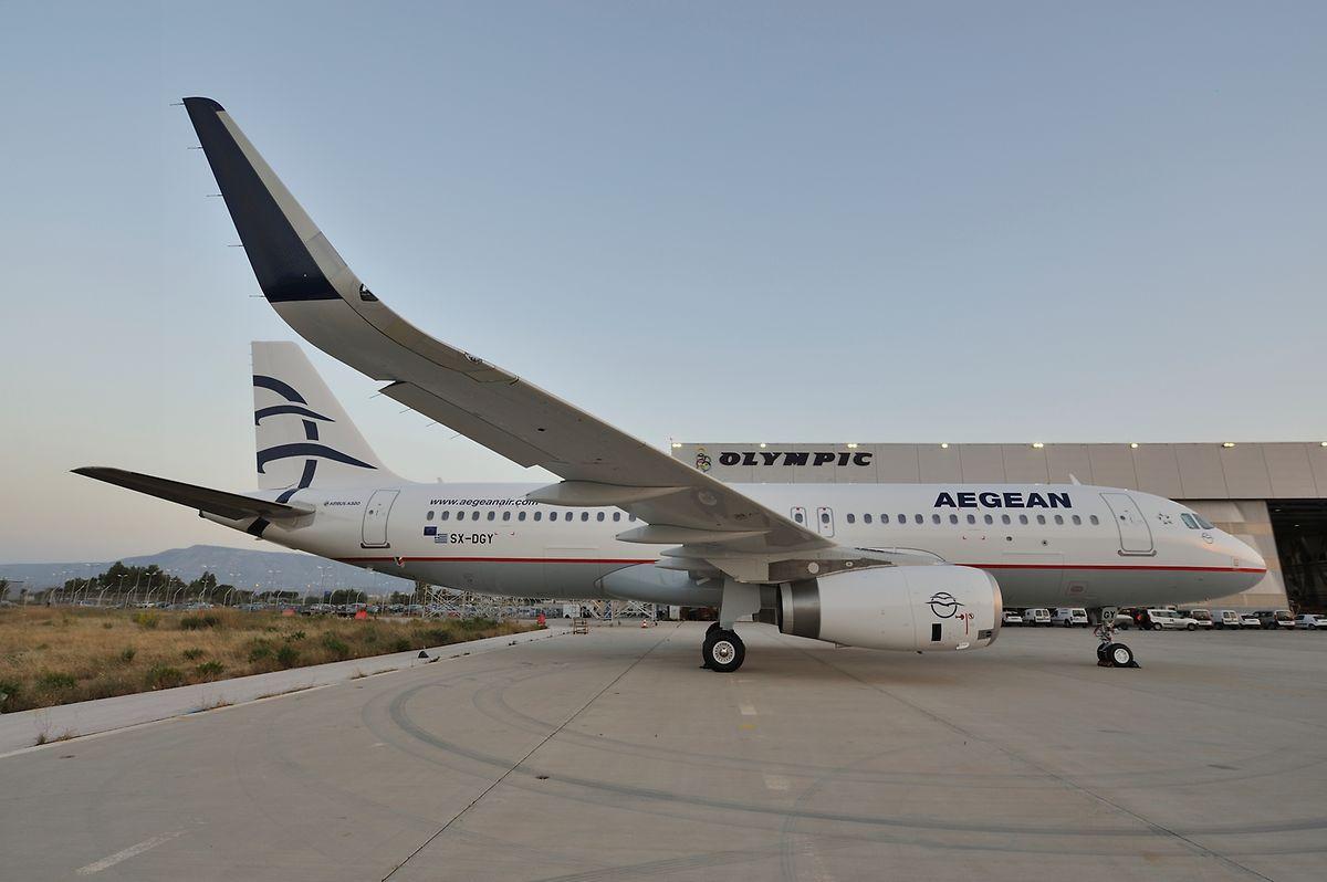 Zum Einsatz kommt eine A320.