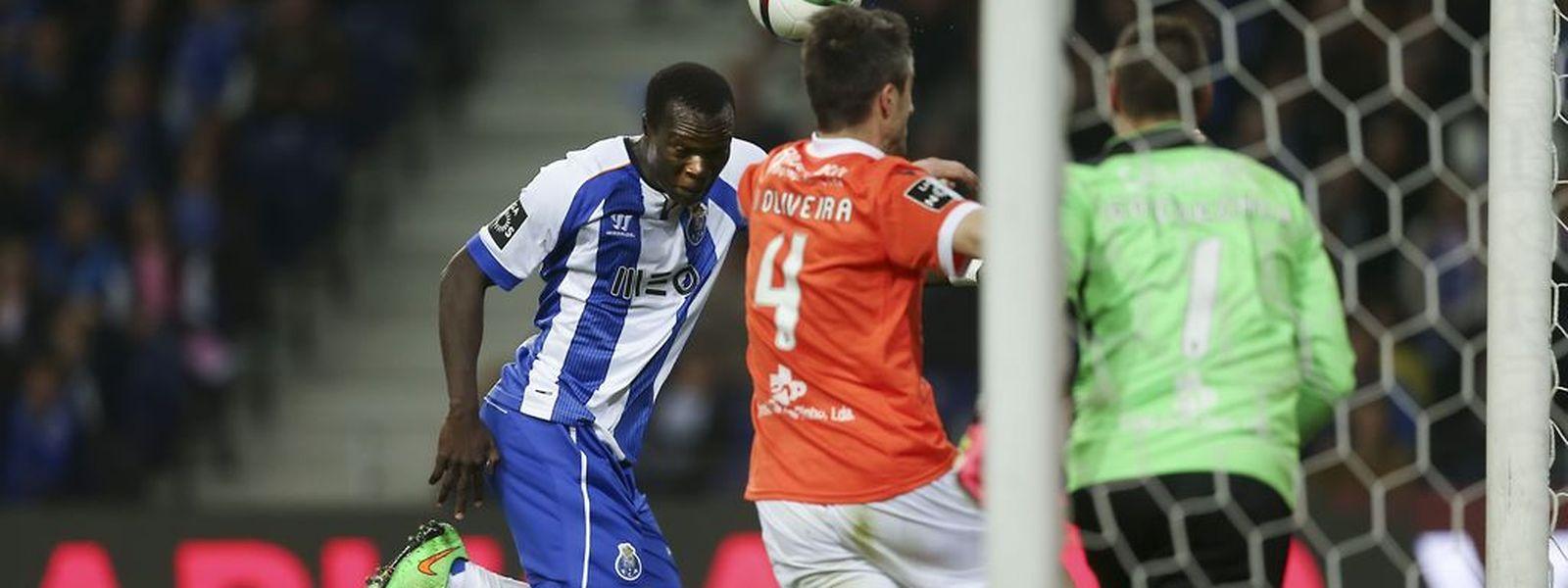 Aboubakar marcou o único golo da partida