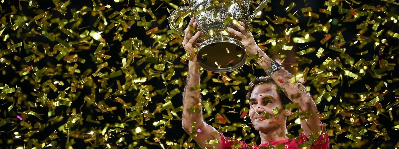 En remportant la finale dimanche à Bâle face à l'Australien Alex De Minaur, Roger Federer a signé la 1.235e victoire de sa carrière