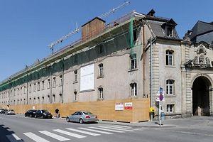 Erweiterung des Lycee Classique d'Echternach im ehemaligen Gendarmeriegebaeude