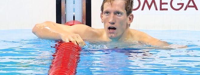 """Laurent Carnol: """"Sobald ich ins Wasser eintauche, sollte eigentlich alles automatisch ablaufen."""""""