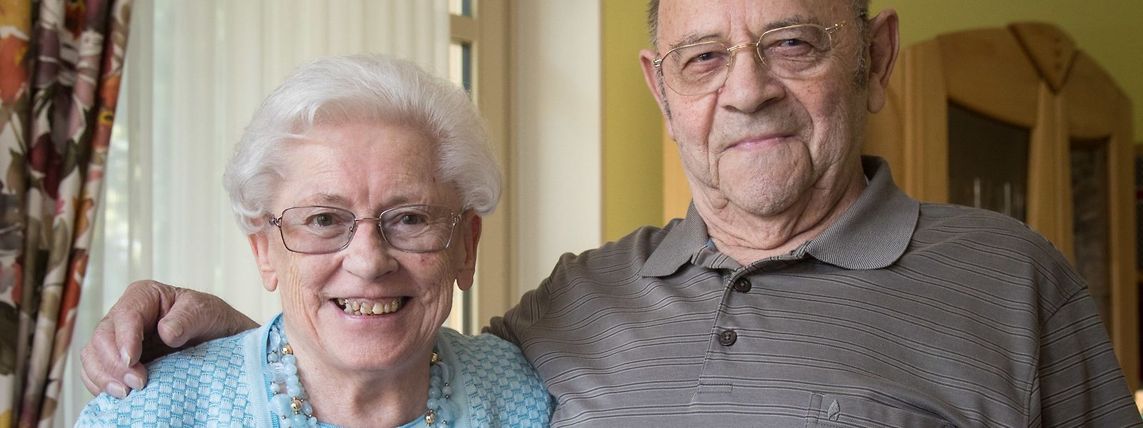 Mehr als ein halbes Jahrhundert verbringen die 87-jährige Jeanny und der 86-jährige Josy Thull-Debra nun schon Seite an Seite.