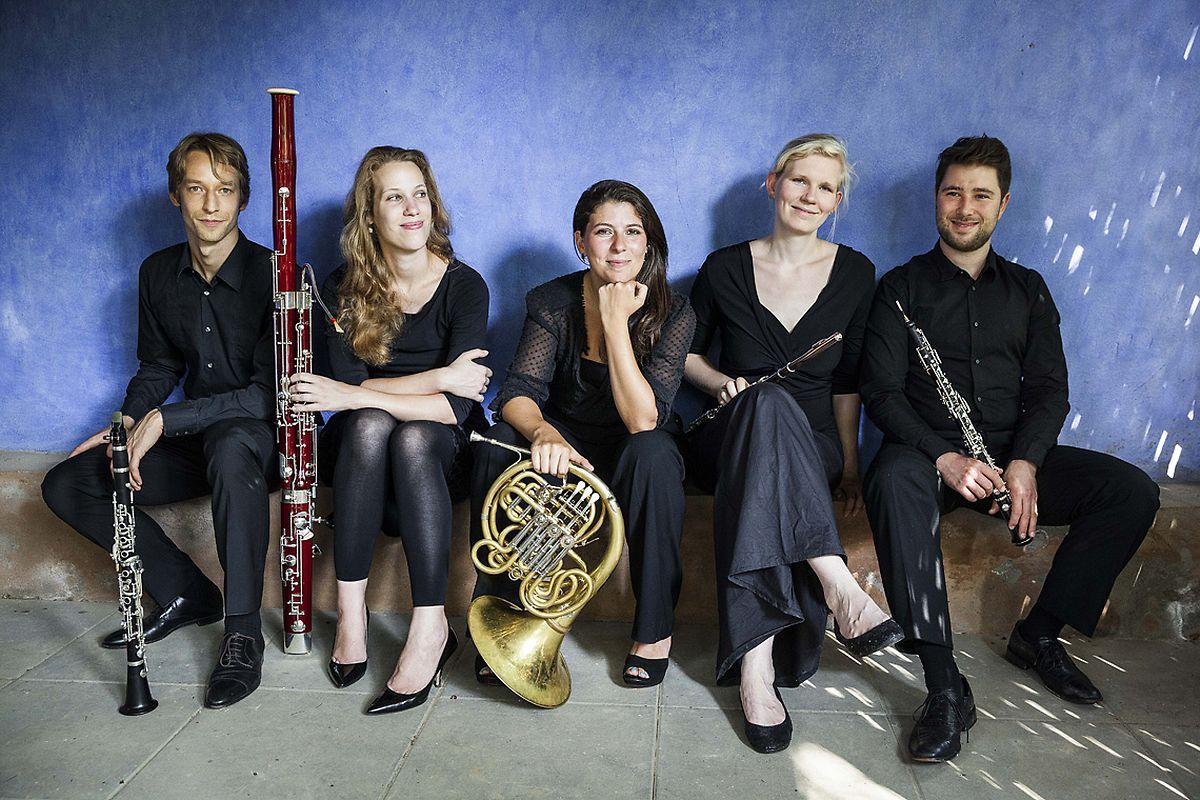 Amanda Kleinbart (M.) mit ihrem Acelga Quintett.