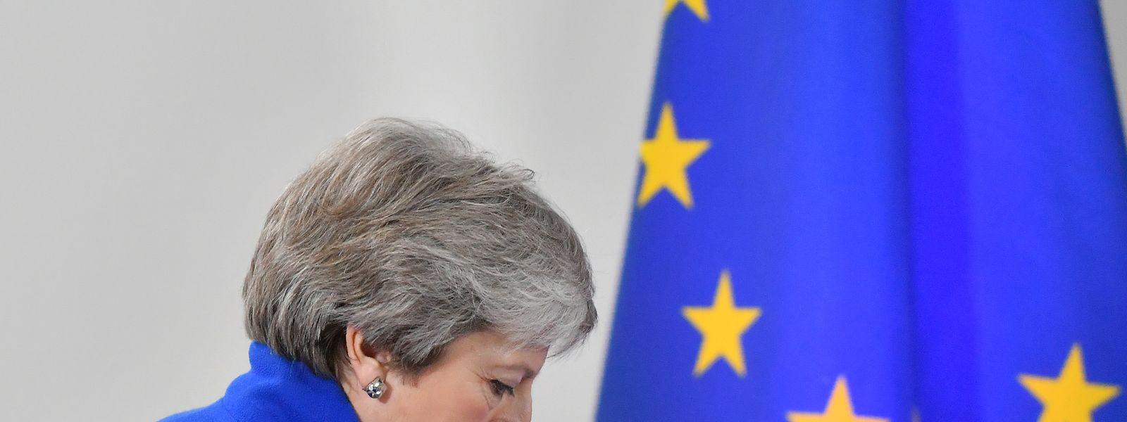 Theresa May renunciou à liderança do partido Conservador a 7 de junho devido à dificuldade em fazer aprovar o acordo de saída que concluiu com Bruxelas.