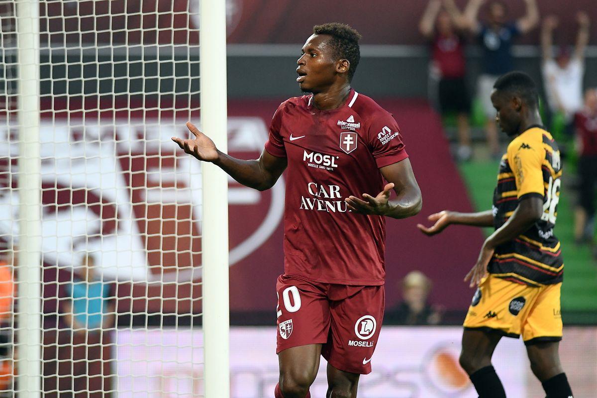 Meilleur buteur des Messins la saison dernière avec 26 buts, Habib Diallo est resté muet en phase de préparation.