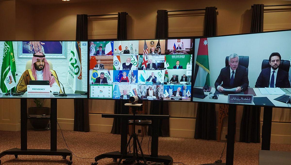 Der Gipfel findet per Videokonferenz statt.