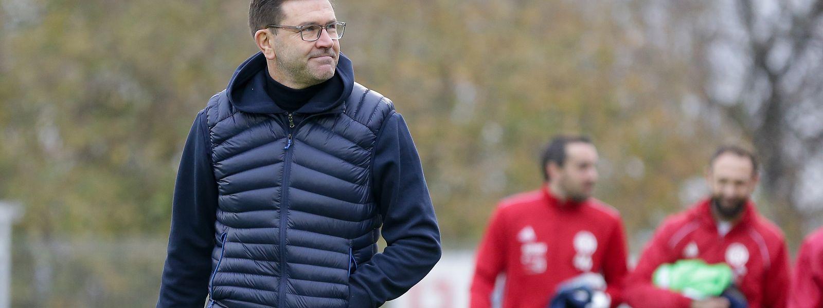 Fola-Trainer Sébastien Grandjean hat ein Team geformt, das für attraktiven Offensivfußball steht.