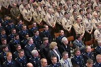 Octave 2015, Messe Fur die Luxemburger Armee und die Police Grand Ducale a la Cathedrale de Luxembourg, le 28 Avril 2015. Photo: Chris Karaba