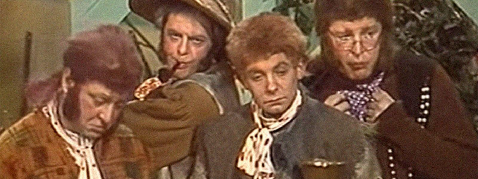 "Sparsames Budget: Die Hobbits in ""Chraniteli""."
