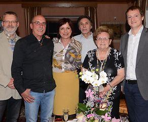 Yvonne Hoffmann- Jeitz feiert 85 Lenze
